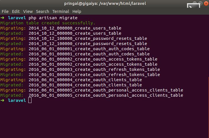 Laravel 5 - How to create REST API Authentication using