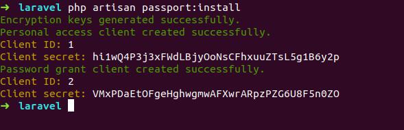 Laravel 5 - How to create REST API Authentication using Passport
