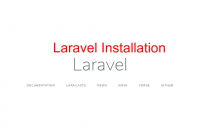 laravel-installation