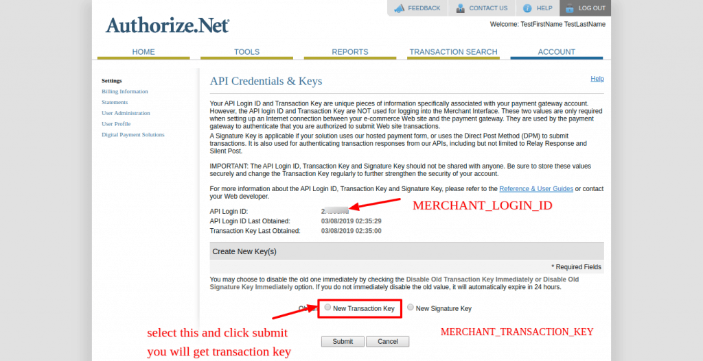 Authorize.net Payment Gateway Integration with Laravel