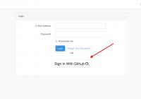 Easy integration of Laravel 5.x Login With Github using socialite