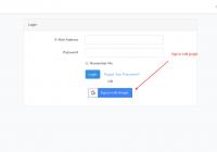 Laravel signin with google