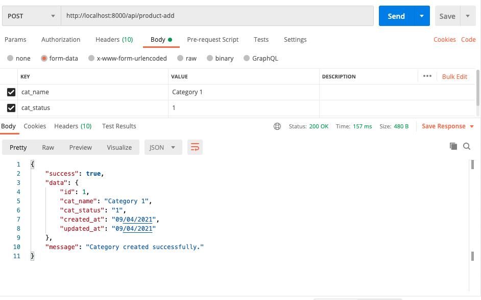 Latest Laravel 8 Installation with REST API using Passport authentication